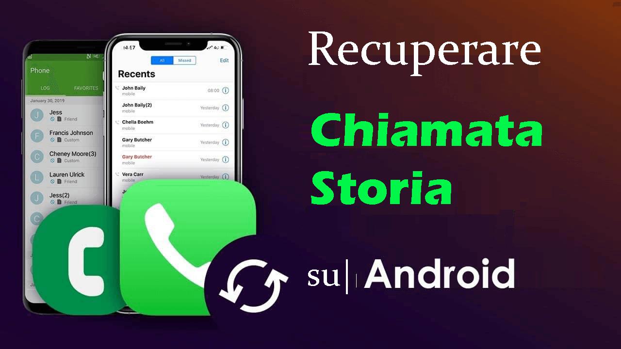 recuperare la cronologia delle chiamate perse su Android