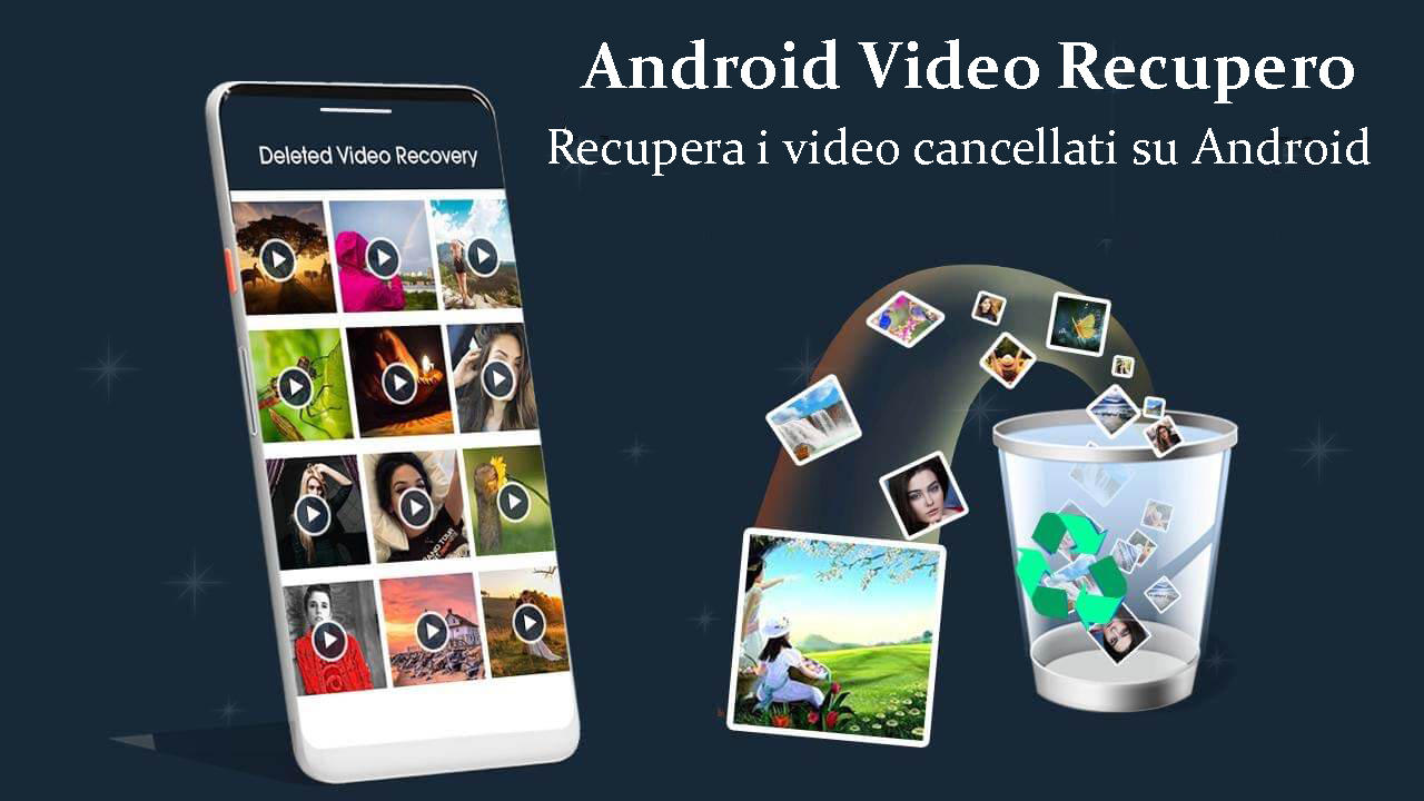 Android video Recupero