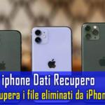 iphone Dati Recupero: recupera i file eliminati da iPhone in modo efficace