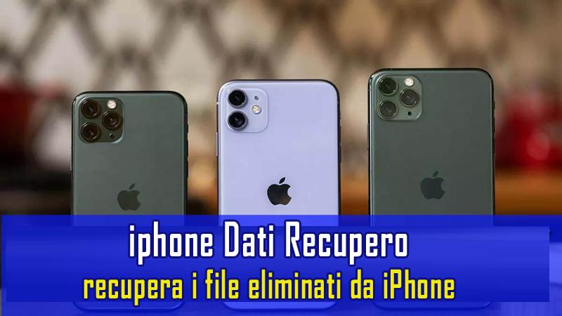 iPhone Dati Recupero Software