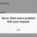 """13 modi per risolvere Instagram """"Spiacenti, si è verificato un problema con la tua richiesta"""""""