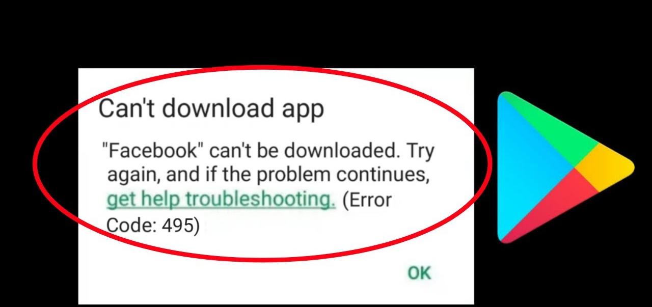 correggere il codice di errore 495 in Google Play Store