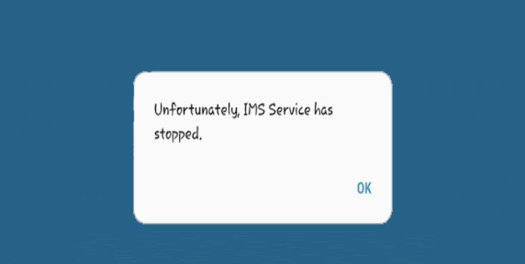"""risolvere il problema """"Purtroppo il servizio IMS è stato interrotto"""""""