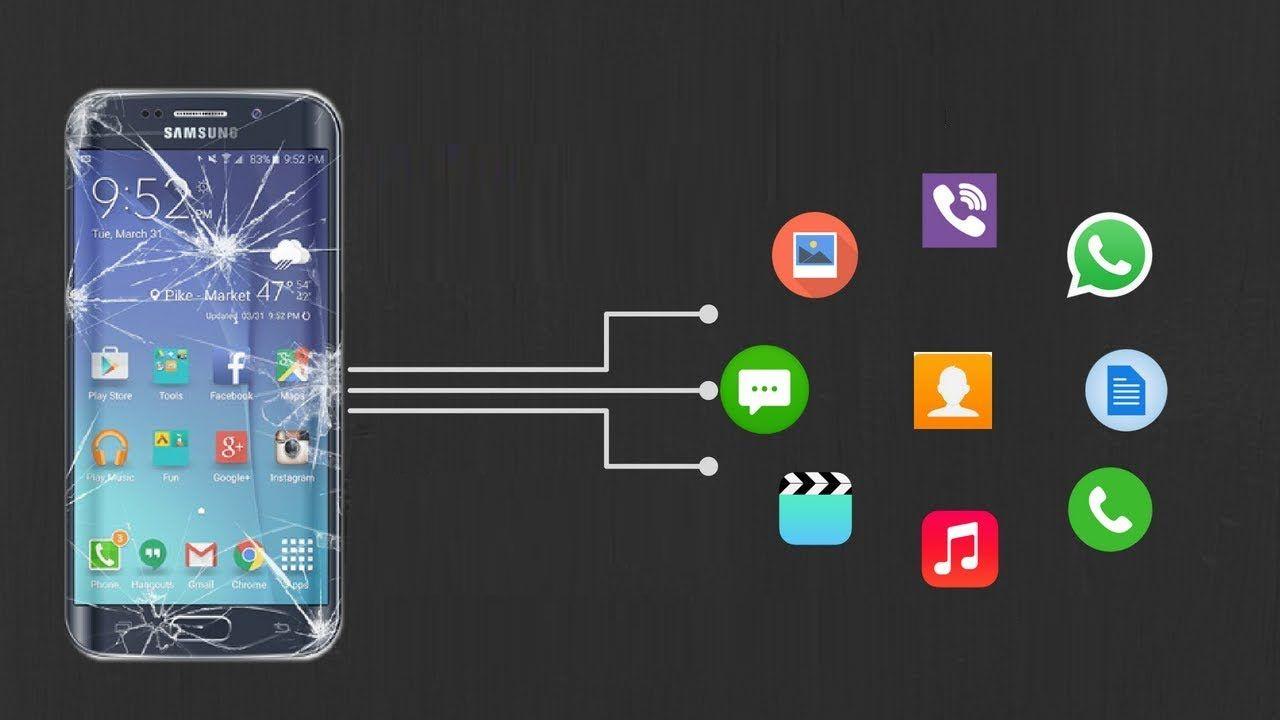 recuperare Dati da Android Phone Con lo schermo rotto